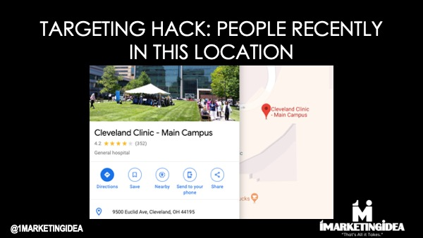 Targeting by Geolocation
